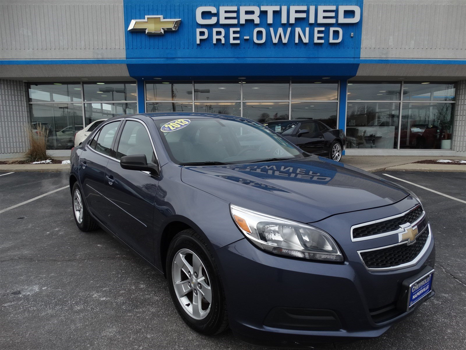 certified pre owned 2013 chevrolet malibu ls 4dr car in naperville t5809a chevrolet of naperville. Black Bedroom Furniture Sets. Home Design Ideas