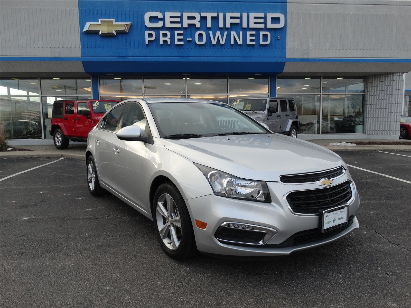 Certified Pre-Owned 2015 Chevrolet Cruze LT 4dr Car In