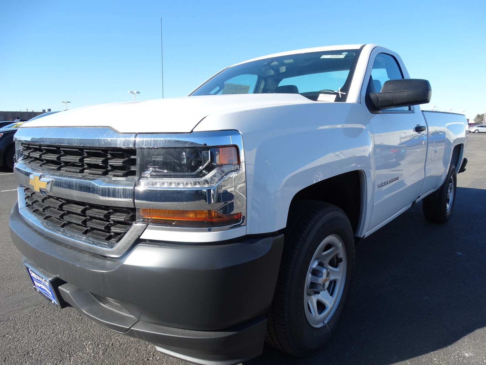 new 2017 chevrolet silverado 1500 regular cab pickup in naperville t5831 chevrolet of naperville. Black Bedroom Furniture Sets. Home Design Ideas