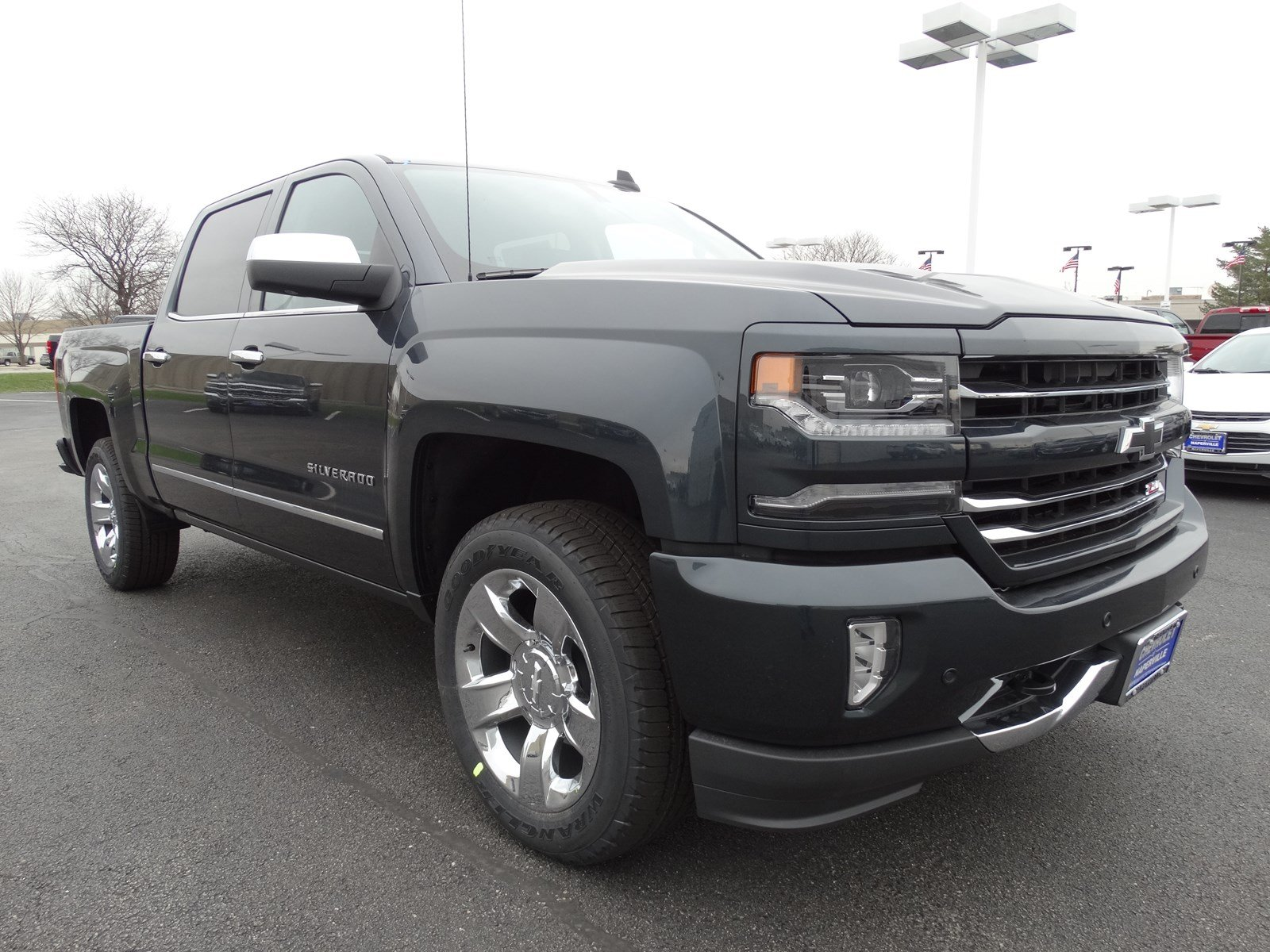 new 2017 chevrolet silverado 1500 ltz crew cab pickup in naperville t6284 chevrolet of naperville. Black Bedroom Furniture Sets. Home Design Ideas