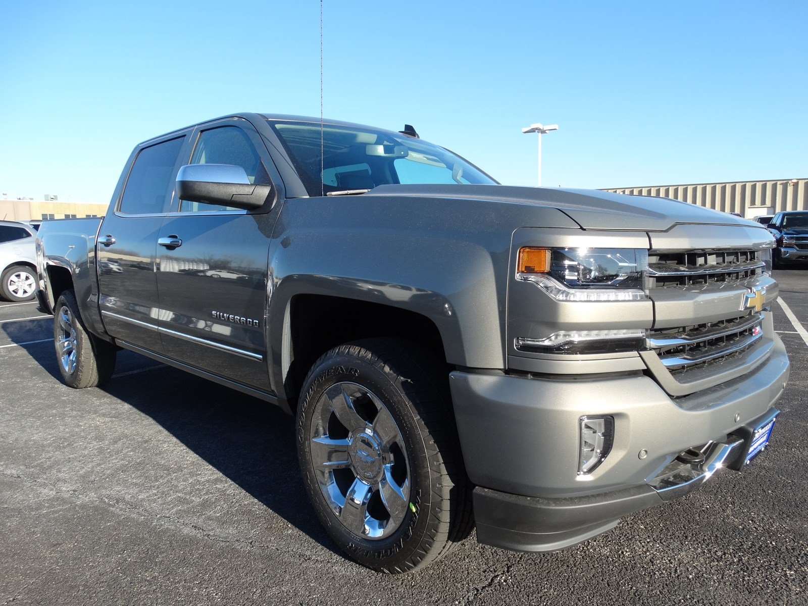 new 2017 chevrolet silverado 1500 ltz crew cab pickup in naperville t6259 chevrolet of naperville. Black Bedroom Furniture Sets. Home Design Ideas