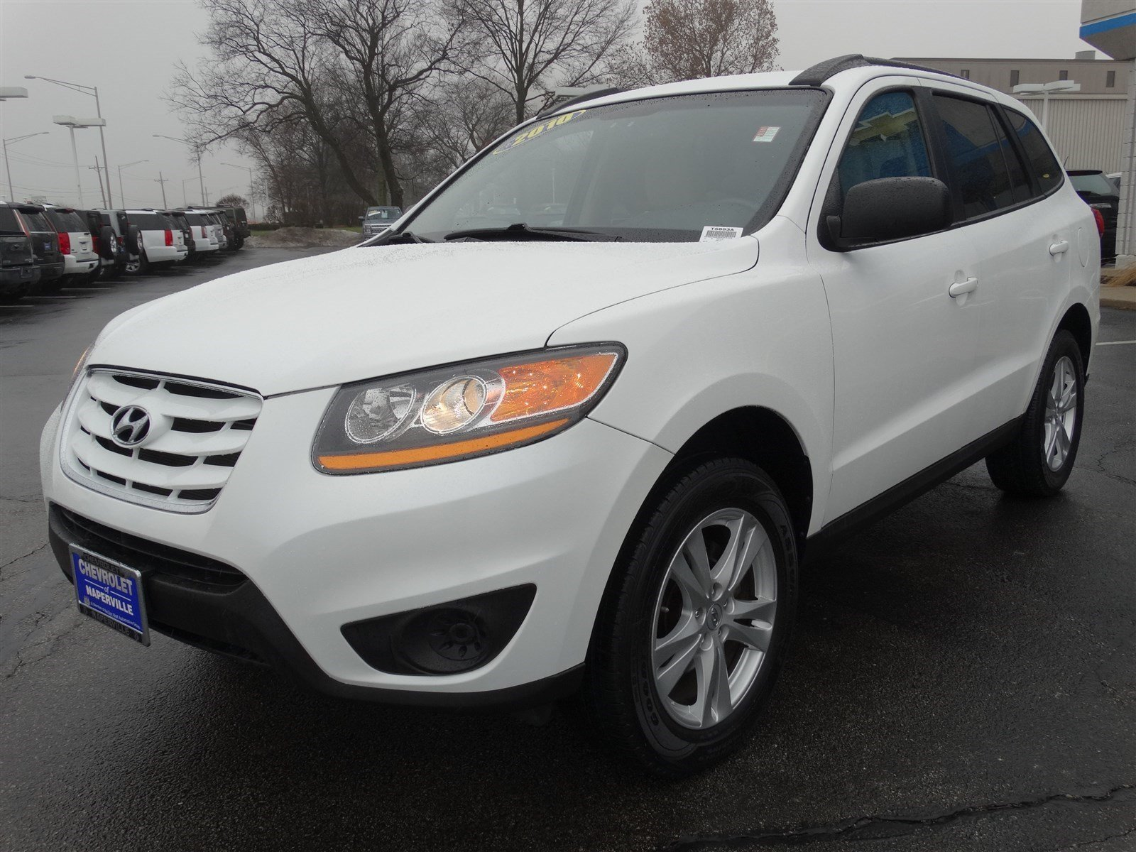 pre owned 2010 hyundai santa fe gls sport utility in naperville t5853a chevrolet of naperville. Black Bedroom Furniture Sets. Home Design Ideas