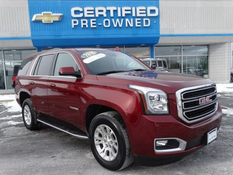 certified pre owned 2016 gmc yukon slt sport utility in naperville p6828 chevrolet of naperville. Black Bedroom Furniture Sets. Home Design Ideas