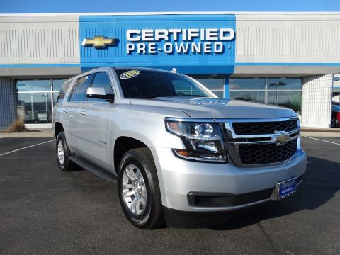 certified pre owned 2015 chevrolet tahoe ltz sport utility in naperville p6884 chevrolet of. Black Bedroom Furniture Sets. Home Design Ideas